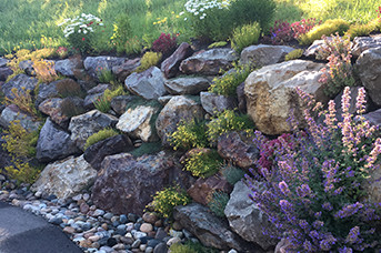 Native ECO Boulder Walls